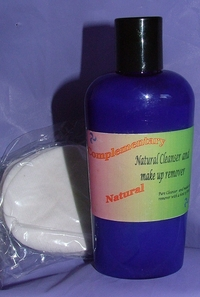 Natural Cleanser and Make up remover